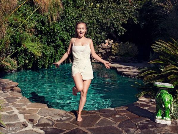 Такая разная и прекрасна: Хайден Панеттьери снялась в стильной фотосессии для глянца
